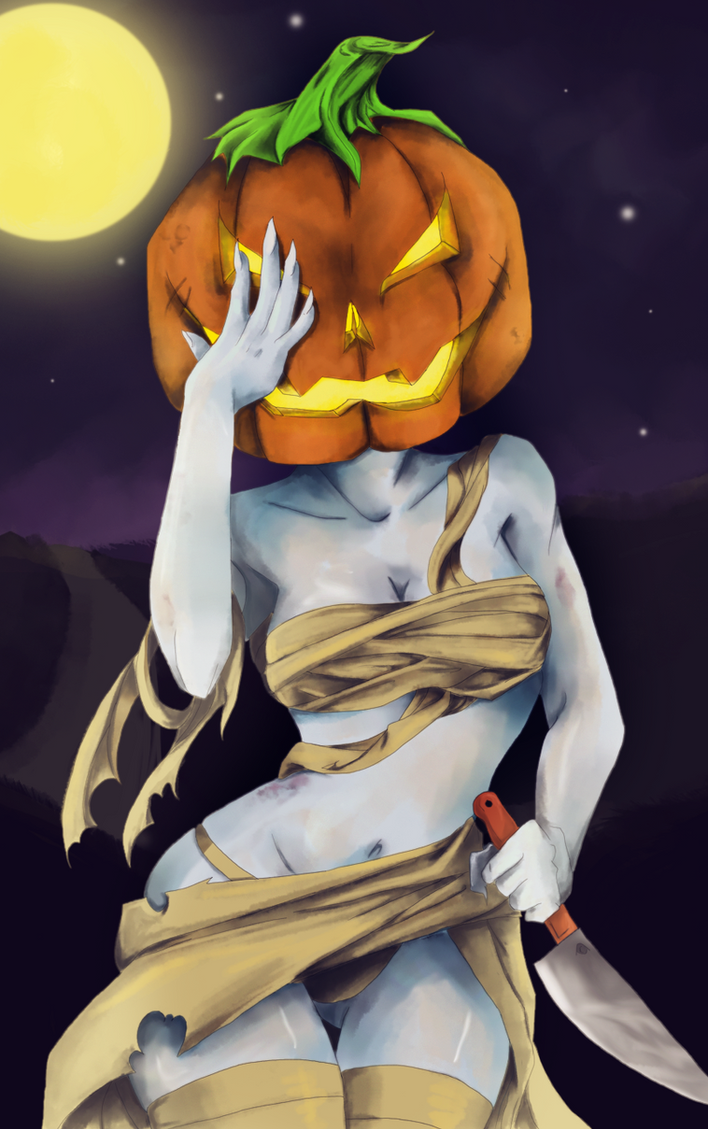 The Pumpkin Queen by z32tteden