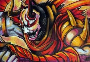Shen Bloodmoon  by IKrystalDrawing