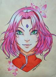 Sakura Haruno by IKrystalDrawing