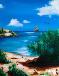 Acrylic Paint nr 7