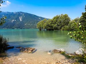 At lake 1
