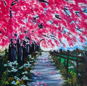 Acrylic n 9   Spring Day