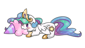 Celestia and Cotton Candy