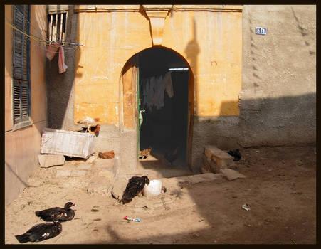 Yellow Door in Cairo