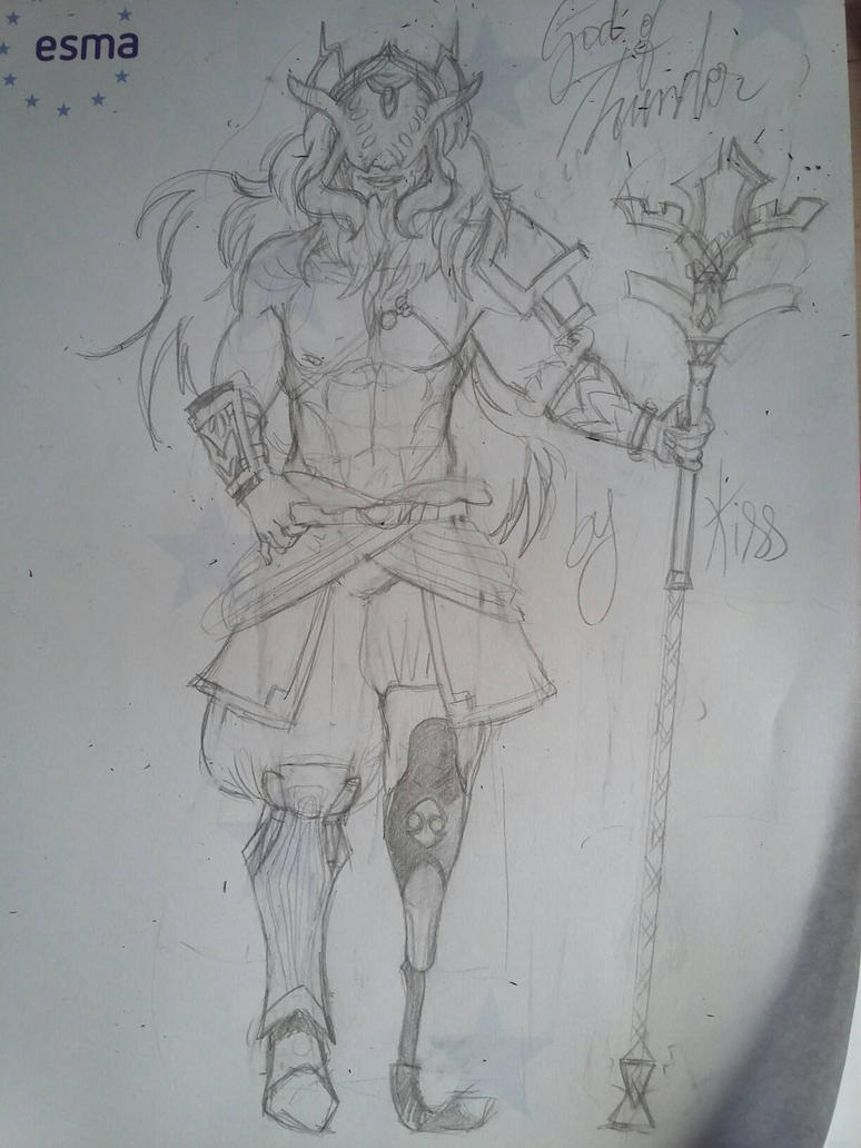 ganon in voe outfit  by Sheenay