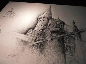 Castle by RealEz-Art