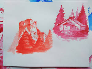 Watercoulor sketches #3