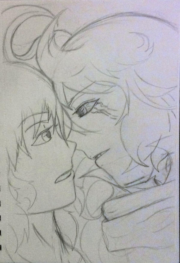 Azure and Zenan by Sia-Kouro