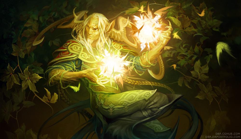 Faun magic by D8P