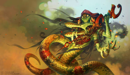Serpent Witch by D8P