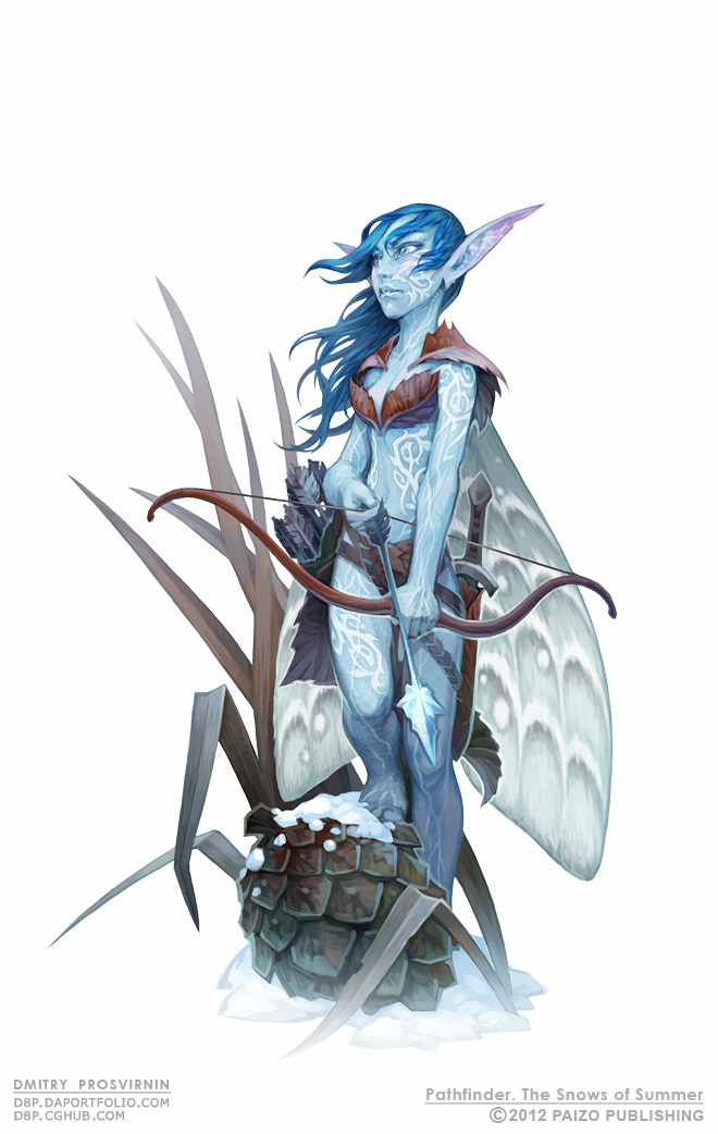 Cold Fey Sprite by D8P