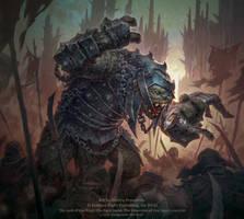 Gorgoroth Hill-troll by D8P