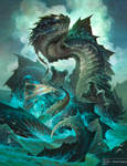 Sea Serpent by D8P
