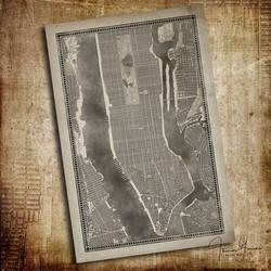 Manhattan Map (commission)