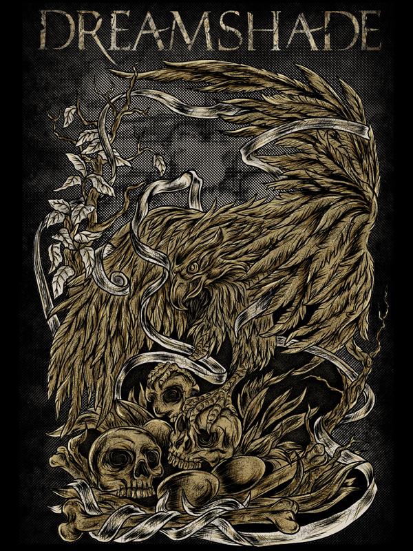 Eagle Skull by bebehsurebeh