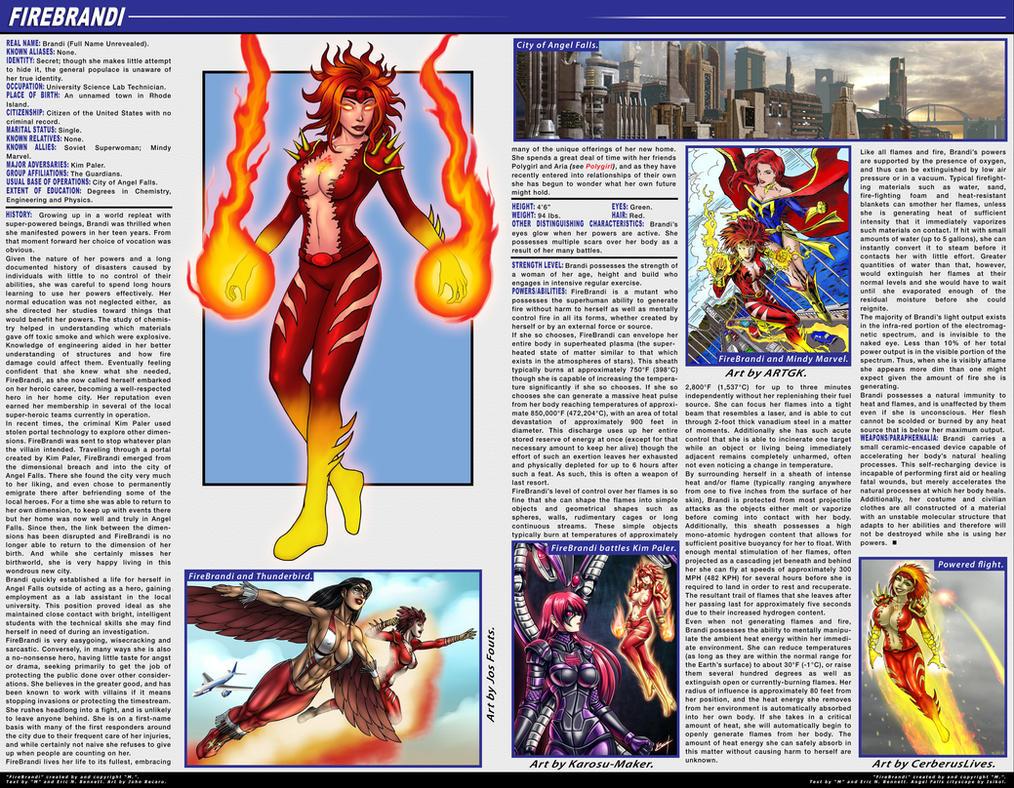 Firebrandi DeviantNation Profile by FireBrandi