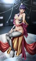 Cyborg geisha by Gill-Goo