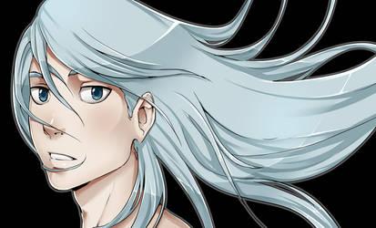 Pretty shiny hair xD by Gill-Goo