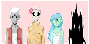 Characters by Gill-Goo