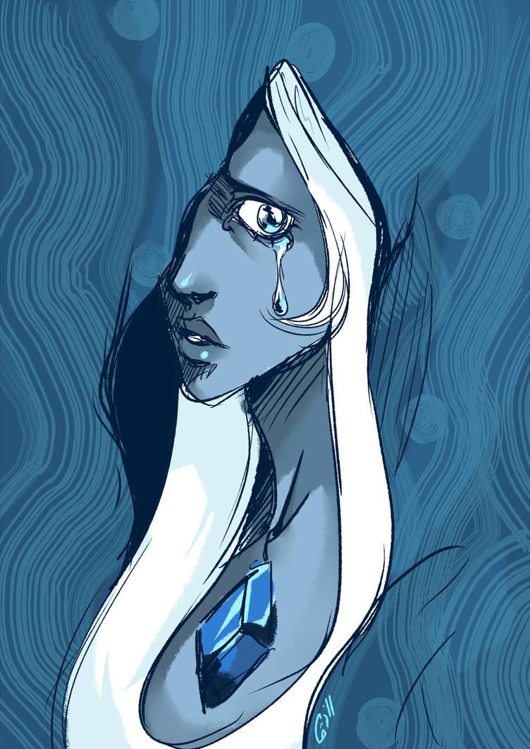 Sadblue by Gill-Goo