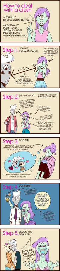 How to deal with your crush? - 5 steps
