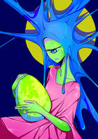 Goopy Madonna by Gill-Goo