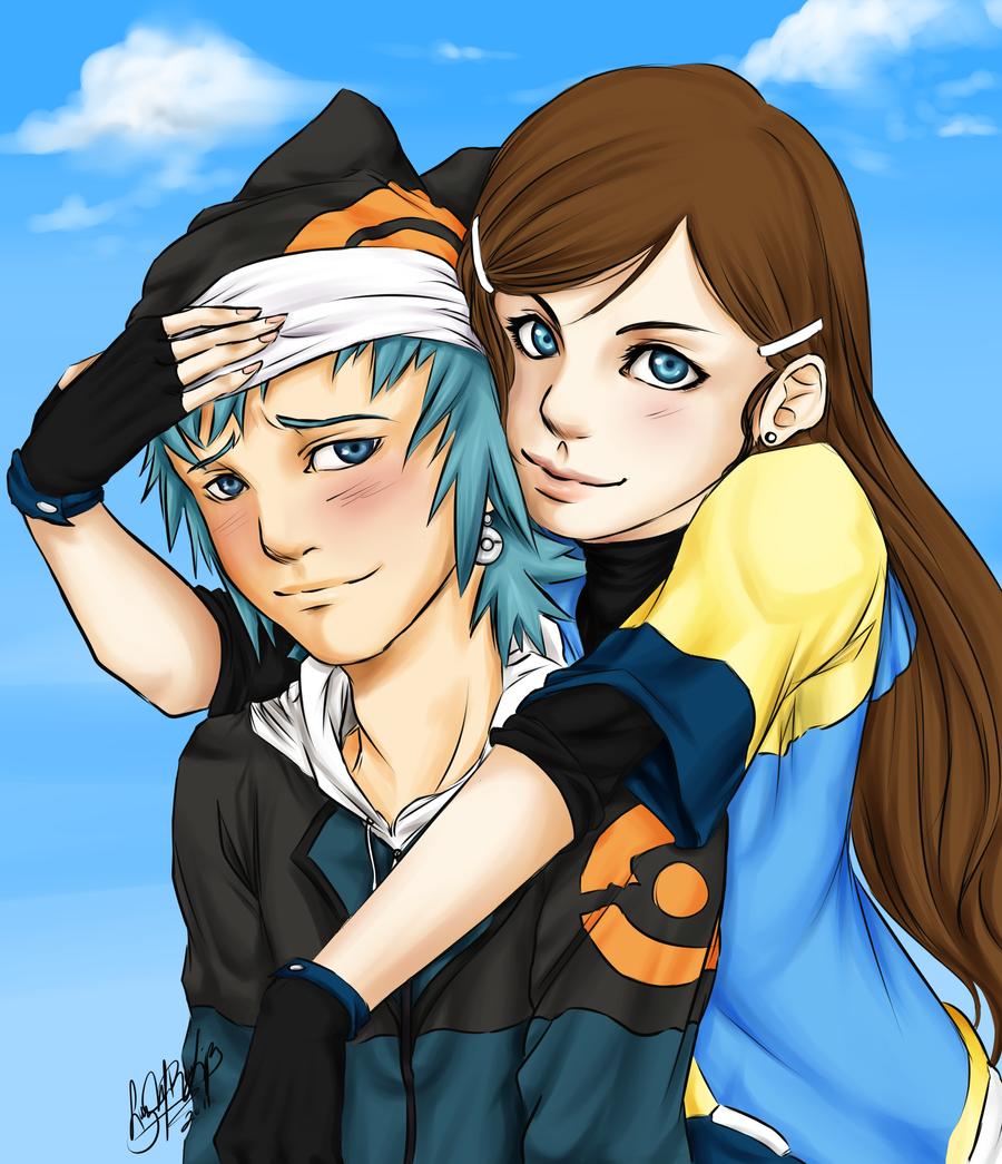 One-chan and Ototo by luzhikari