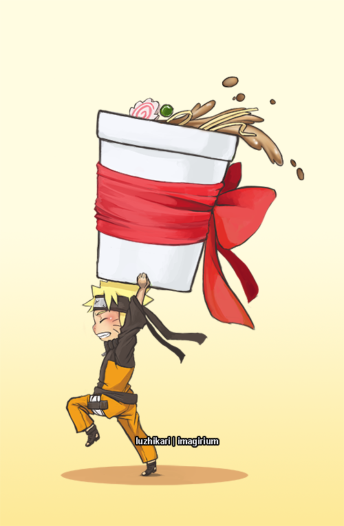 Naruto B-day by luzhikari