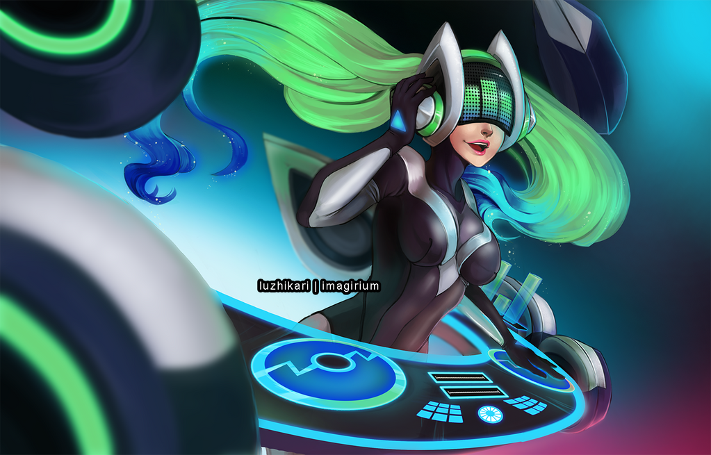 LoL DJ Sona Kinetic by luzhikari