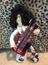 Jimmy Page Plush by ClassicROCKtrash