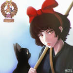 Kiki and Jiji by Aru06