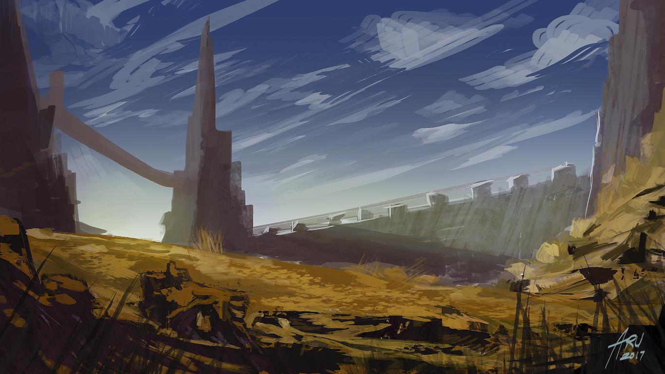 47/365 Wasteland Walls by Aru06