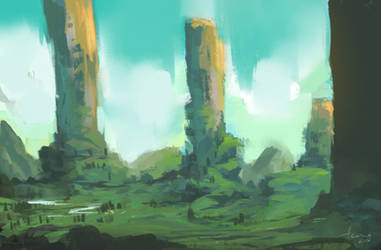Monoliths by Aru06