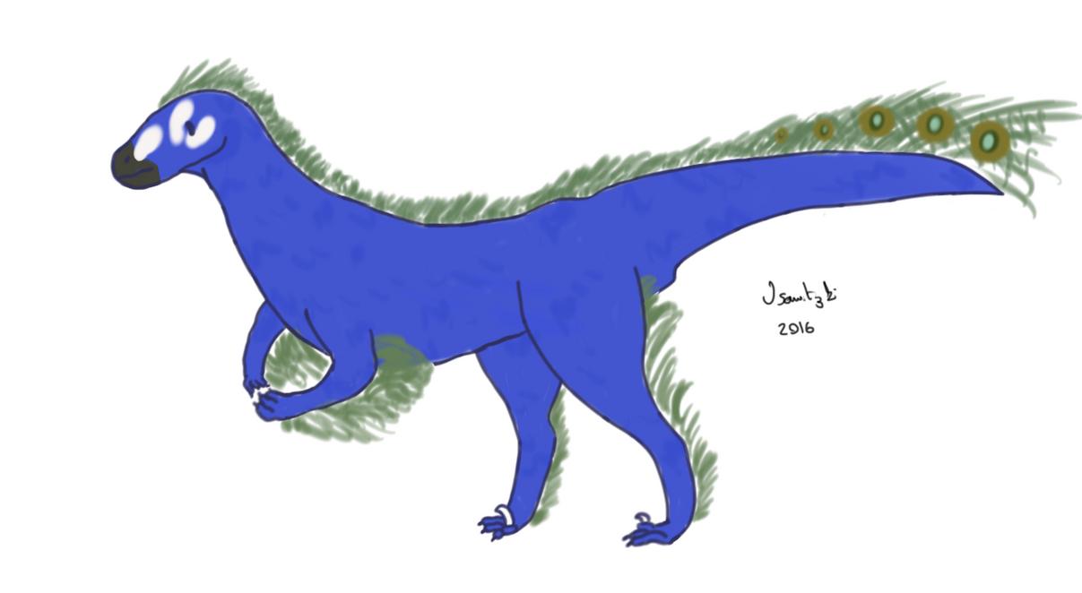 Utahraptor by jenpen2255