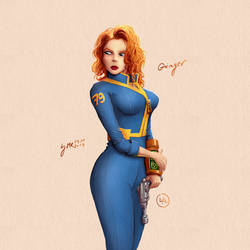 Ginger   Fallout by mrudowski