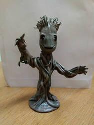 Groot dancing baby by creativitieskey