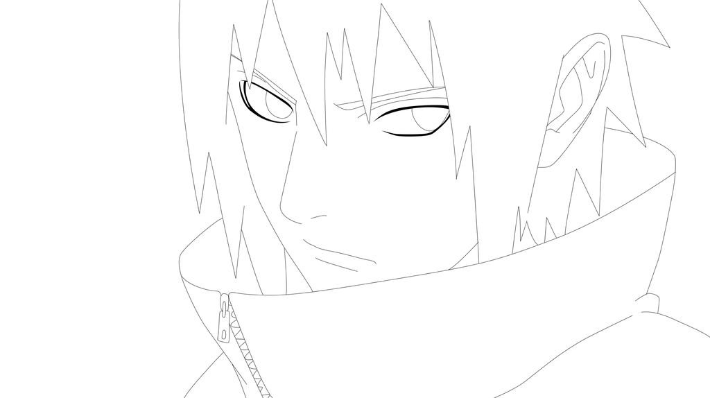 Sasuke Lineart : Line sasuke favourites by cculove on deviantart