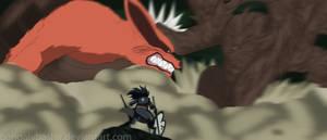 Madara And Hashirama Great Battle