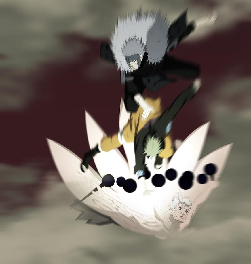 Tobirama And Naruto Tagteam by bangalybashir