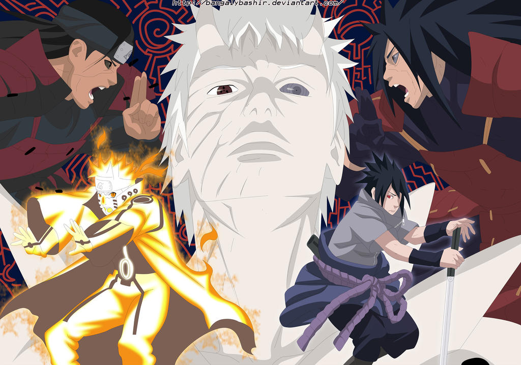 Naruto 652 Page 2-3 by bangalybashir