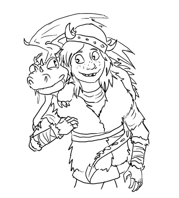 My dragon pal by akselvee