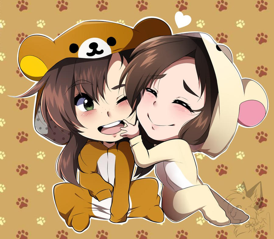 Love Each Other When Two Souls: Rilakkuma Onesies By CrowzPerch On DeviantArt