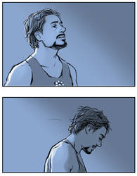 Tired Ironman.. by Hallpen