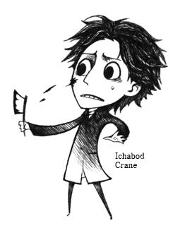 Ichabod Crane by Hallpen