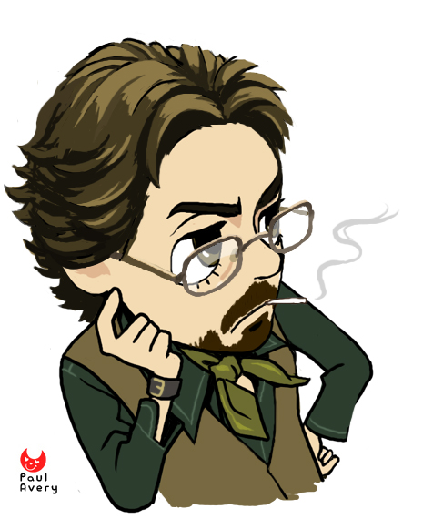 The gallery for --> I Am Not Paul Avery Button