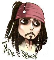 captain jack by Hallpen