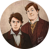 Holmes Brothers by Hallpen