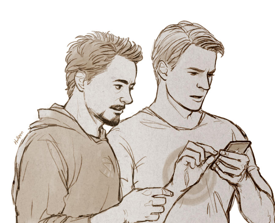 Avengers: Steve and Tony