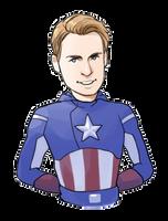 Avengers: Captain America by Hallpen