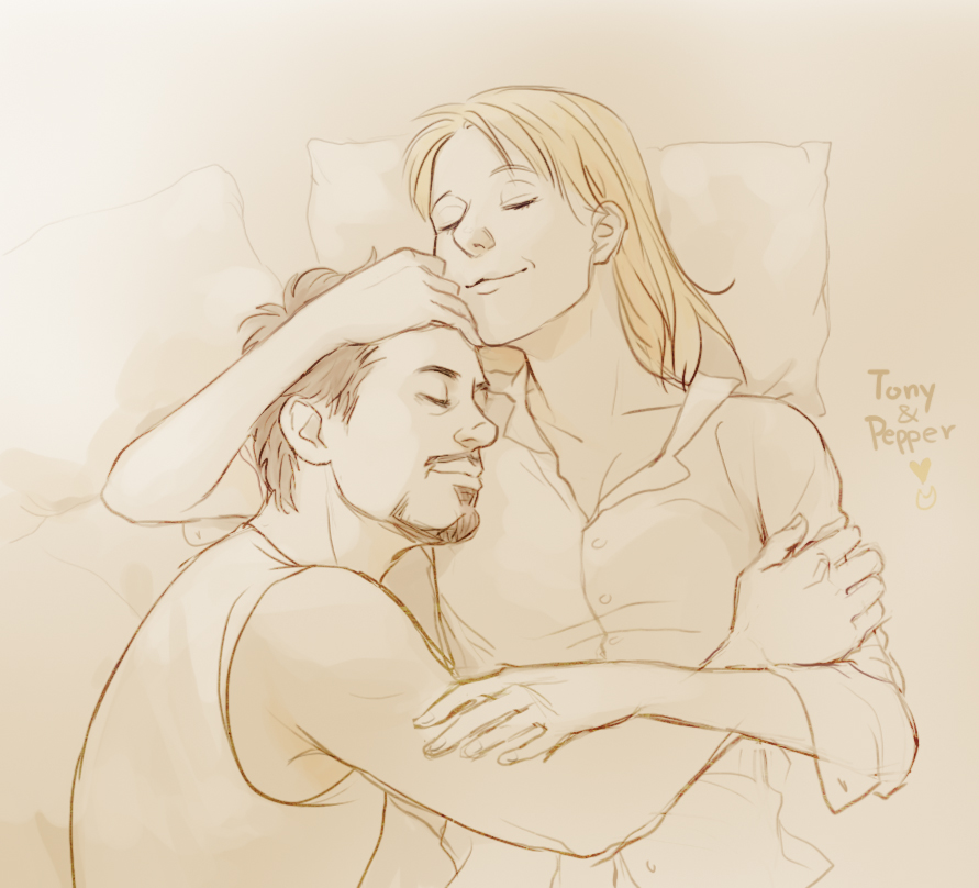 Tony n Pepper by Hallpen